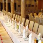 Sala kolumnowa w Hotelu Trzy Światy w Gliwicach