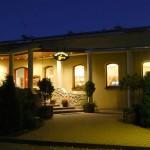 Restauracja - widok z zewnatrz Hotel Trzy Światy w Gliwicach