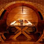 Widok winiarnii W Hotelu 3 Światy Gliwice