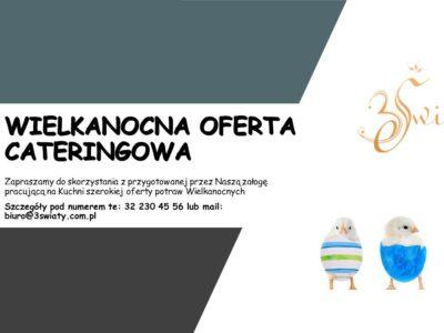 Wielkanocna oferta cateringowa - Hotel 3 Światy Gliwice